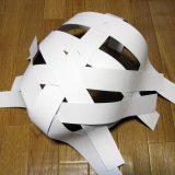 張り子仮面工作