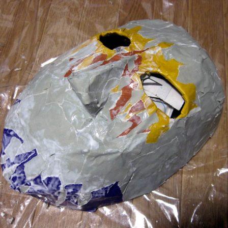 張り子仮面